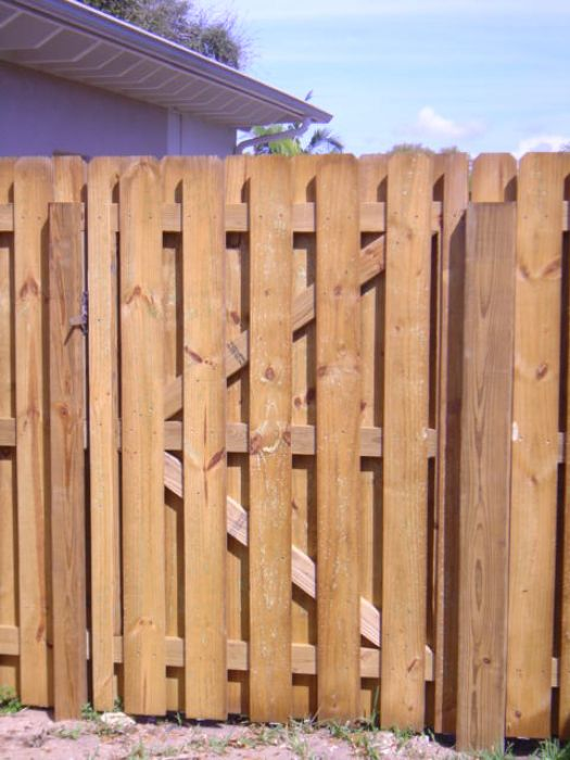 Shadow Box Fence Gate Construction Image Gallery Viking
