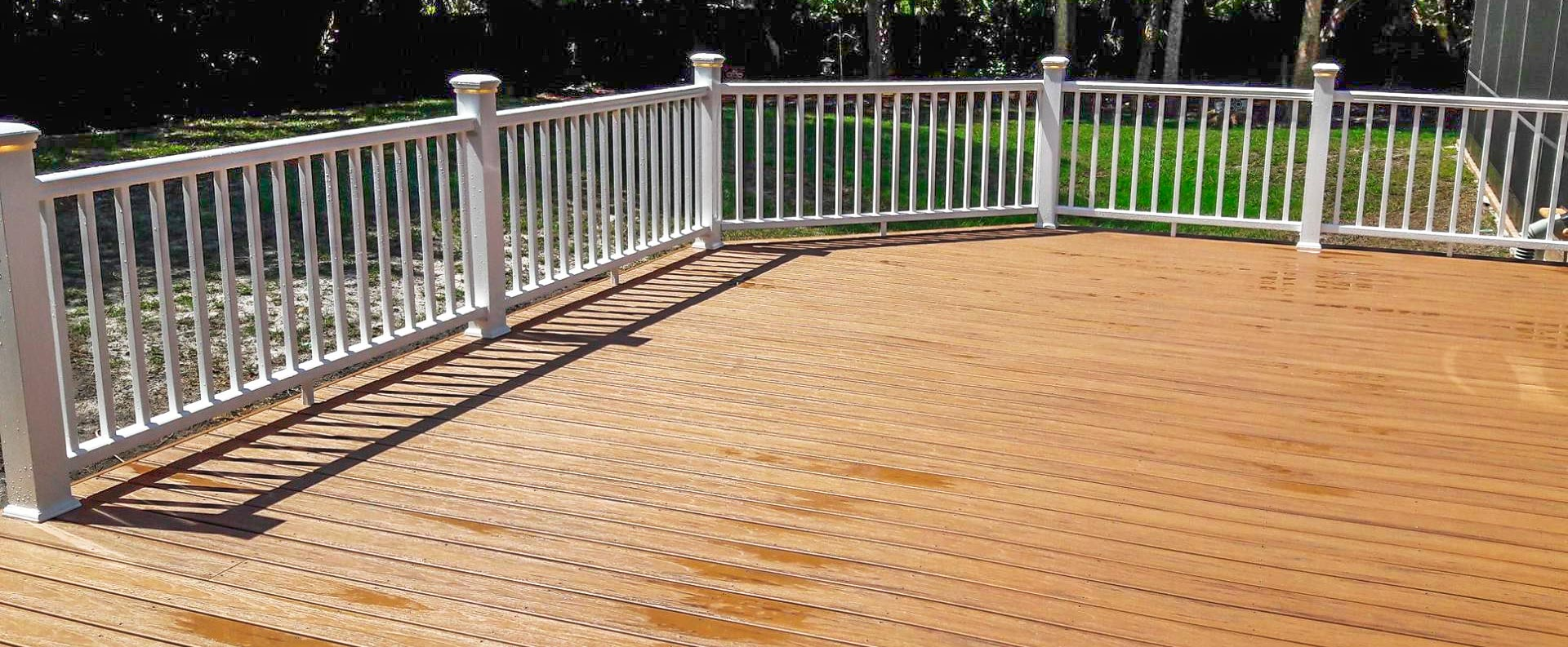 Viking Deck and Fence